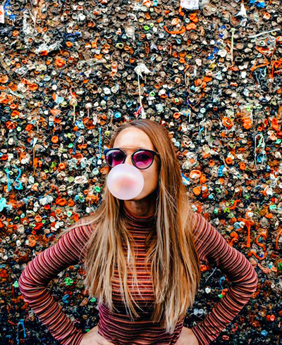 One of the strangest, and grossest things that people can't wait to see is Bubblegum alley in San Luis Obispo