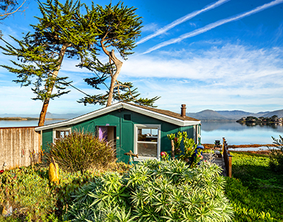 Vintage Waterfront Beach Cottage On Morro Bay A Perfect Retreat For Two