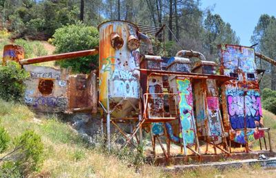 Explore the old Rinconada Mercury Mine